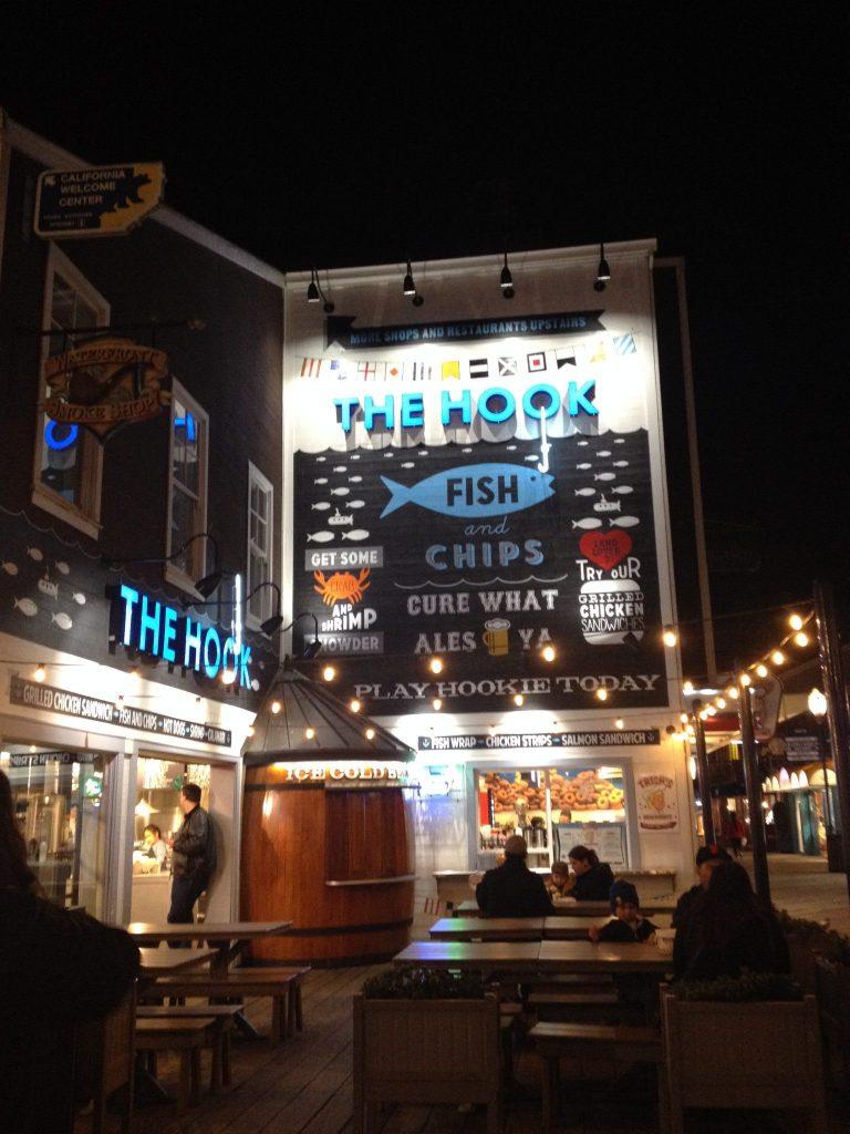 Pier 39 restaurant