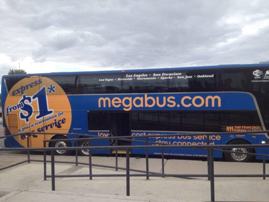 megabus bus station